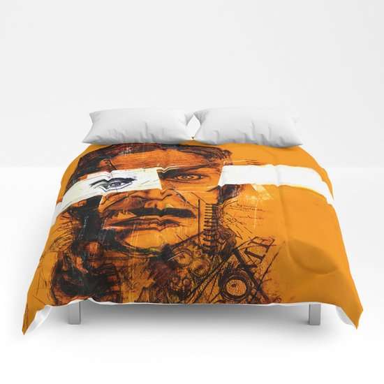 Burning Man Comforters