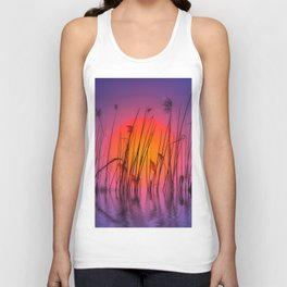 Sunset 58 Unisex Tank Top