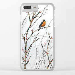 Harbinger of Spring Clear iPhone Case