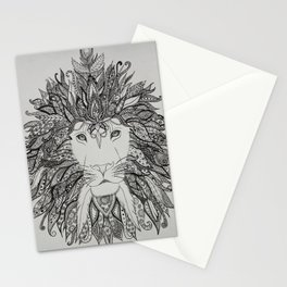 King of Lions Stationery Cards