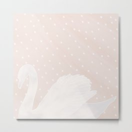 Swan Princess Metal Print