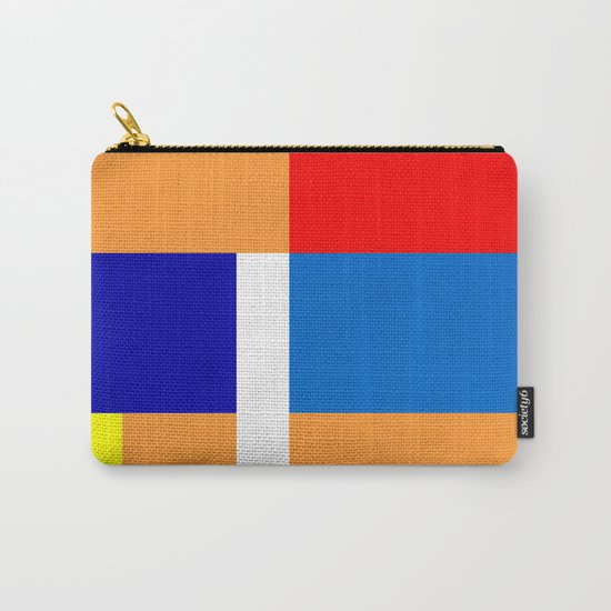 Mondrian #10 Carry-All Pouch