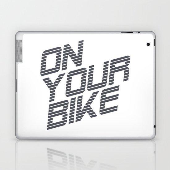 Bike. Laptop & iPad Skin