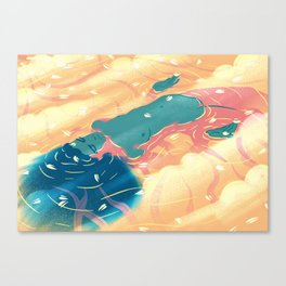 heaven river Canvas Print