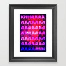 The Wrath Framed Art Print