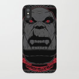 Garrosh iPhone Case