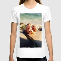 seashell T-shirts featuring seashell by Vivian Fortunato
