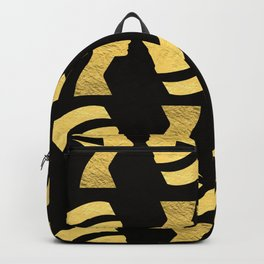 -BEQUEEN IN GOLD Backpack