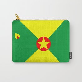 Tropical Vacation Grenada Flag Carry-All Pouch