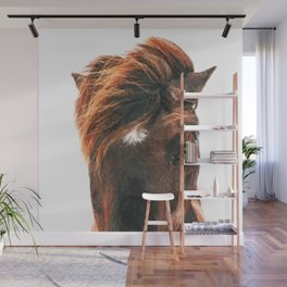 Horse Head Wall Mural