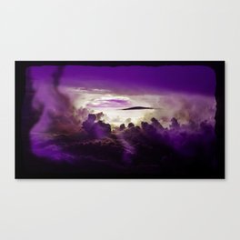 I Want To Believe - Purple Canvas Print