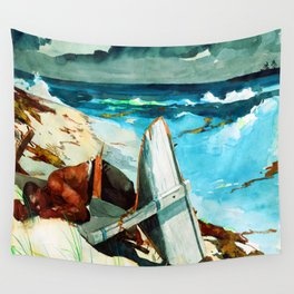 Winslow Homer After the Hurricane Wall Tapestry