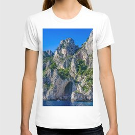 The White Grotto of the island of Capri, Italy off Naples and the Amalfi Coast T-shirt