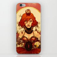 circus iPhone & iPod Skins featuring Circus by Lettie Bug