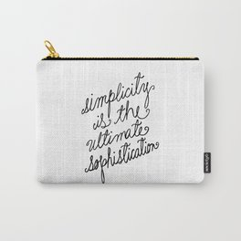Simplicity Carry-All Pouch