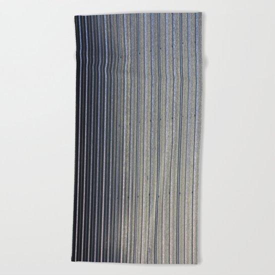 Aluminum Siding Beach Towel