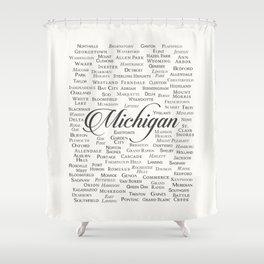Michigan Shower Curtain