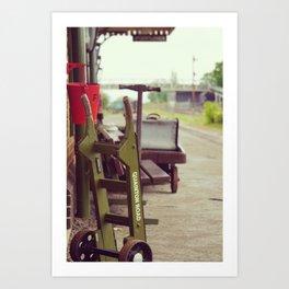 Railway Station Art Print