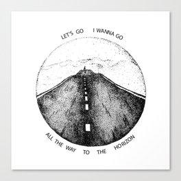 Biffy Clyro - Mountains lyrics Canvas Print