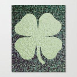 Lucky Clover Canvas Print