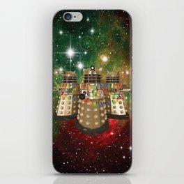 Holiday Daleks iPhone Skin