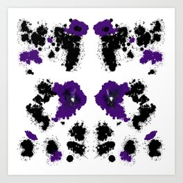 Rorsc 5 Art Print