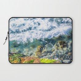 Clear Water Cliffside Laptop Sleeve