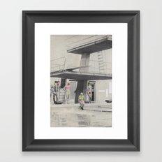 Modesty Framed Art Print
