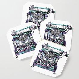 Magical Typewriter Coaster