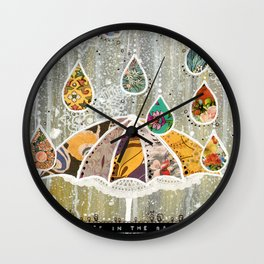 Dance In the Rain Wall Clock