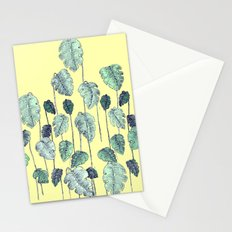 palm leaves pen Stationery Cards