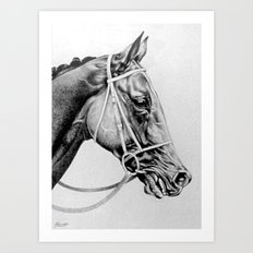 Ready to Run - Vaguely Noble (GB) Art Print