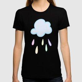 Pastel Rainbow Rain Cloud T-shirt