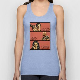 The Good, the Bad, and the Shiny - Firefly Unisex Tank Top