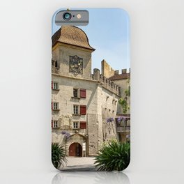 Switzerland Lenzburg Kanton Aargau Bush Cities Building Houses Shrubs iPhone Case