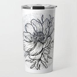 Blooming Flower Travel Mug