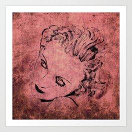 Carole Art Print