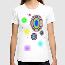 Rainbow circle T-shirt