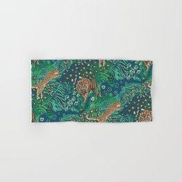 Huntress- teal Hand & Bath Towel
