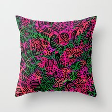 Mehndi Ethnic Style G355 Throw Pillow