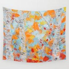 Aspen October Wall Tapestry