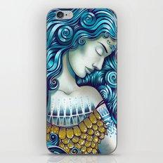 Calypso Sleeps iPhone & iPod Skin
