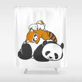 Comfy Bed Shower Curtain