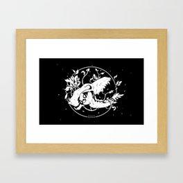 Worship the dark Framed Art Print