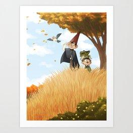 Over the Garden Wall Art Print