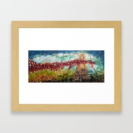 Rise Against the Wind Framed Art Print