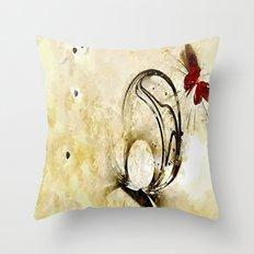 Hollow Goodbyes Throw Pillow