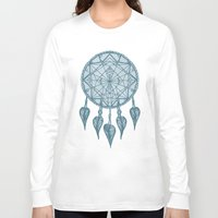 dream catcher Long Sleeve T-shirts featuring Dream Catcher by Jamie Bryan