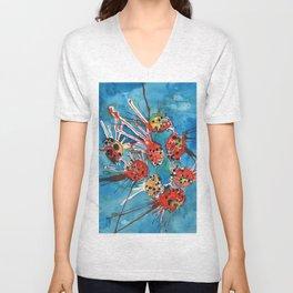 Lady Bugs Unisex V-Neck