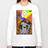 attack on titan Long Sleeve T-shirts featuring Attack On Joker by winterknight